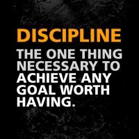 Fitness Inspiration: Discipline